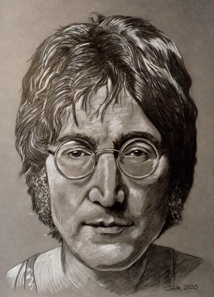 John Lennon by jockyp